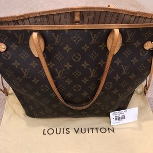 💯 Authentic Louis Vuitton Neverfull MM